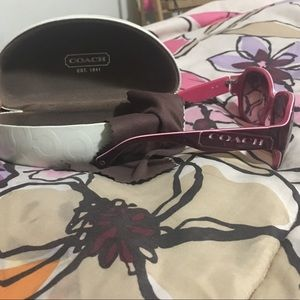 Coach sunglasses *updated with pics*